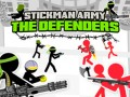 Játékok Stickman Army: The Defenders
