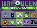 Játékok Mahjong Connect Halloween